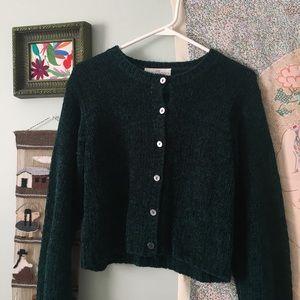 Vintage Sweaters - Vintage Chenille Cardigan